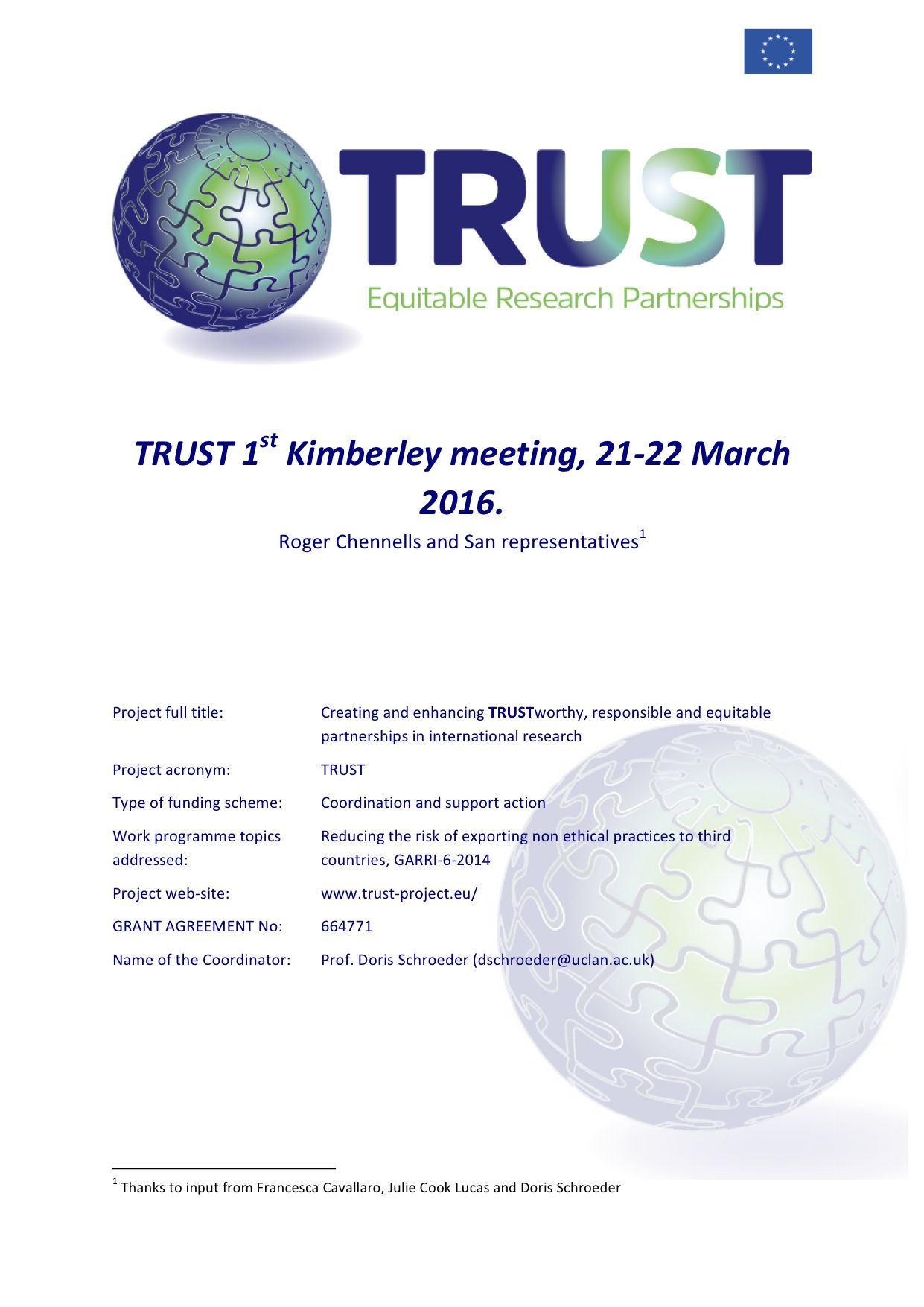 TRUST_Kimberley meeting_March21-22-2016_Final